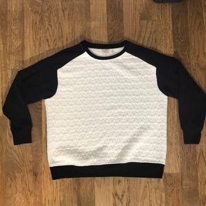 Rafaella Sport | white and black long sleeve M